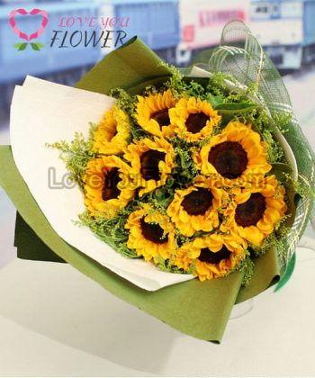ช่อดอกไม้ Surya ดอกทานตะวัน