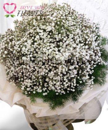 ช่อดอกไม้ Kulani ดอกยิปโซ