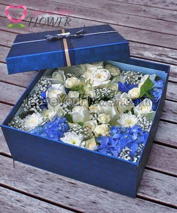 ช่อดอกไม้ Miranda ดอกมะลิ ดอกกุหลาบ