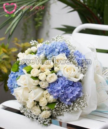 ช่อดอกไม้ Jasmine ดอกมะลิ ดอกกุหลาบ