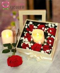 A129-Romantic Roses
