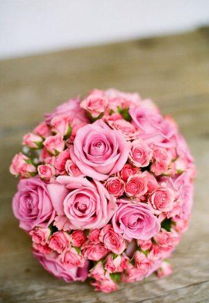 ช่อดอกไม้ทรงกลม (Round Bouquet)