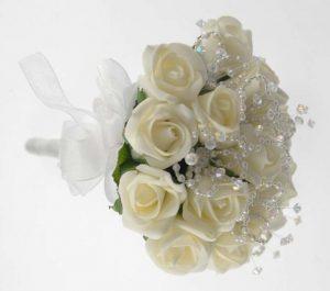 ช่อดอกไม้แบบเครื่องประดับ (Posy)