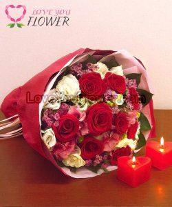 ช่อดอกไม้สวย ๆ Rosalind
