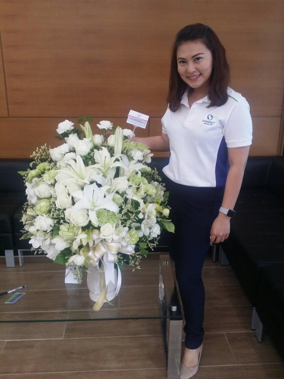 แจกันดอกไม้ C027 – Orchid