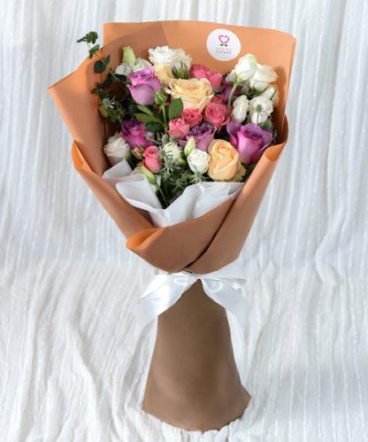 ดอกไม้ช่อใหญ่ให้คนรัก