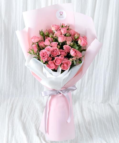 ดอกกุหลาบ 30 ดอกแทนความรักจากหัวใจในวันวาเลนไทน์