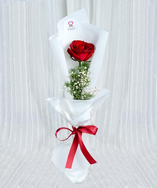 ดอกกุหลาบหนึ่งดอกสำหรับวาเลนไทน์