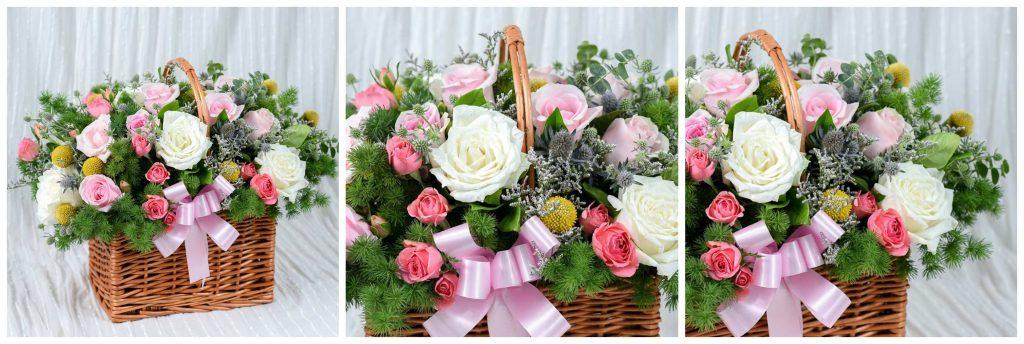 กระเช้าดอกไม้สำหรับผู้ใหญ่